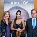 Concierto y nombramiento de Leticia Moreno como amiga de UNICEF Comité de Madrid